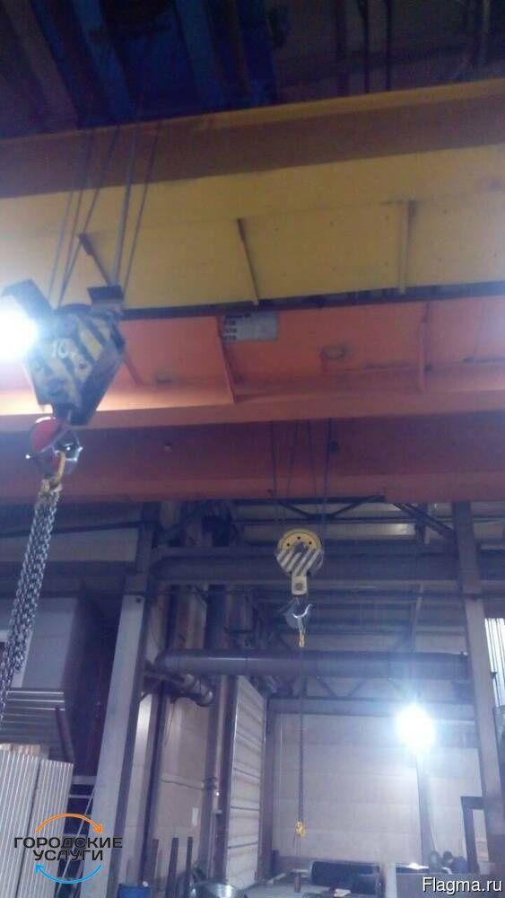 Ремонт и техническое обслуживание кран-балок,мостовых,козловых кранов